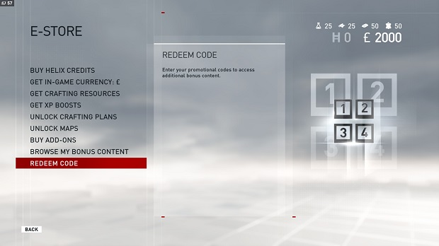 Assassin's Creed Syndicate Redeem Code Screen