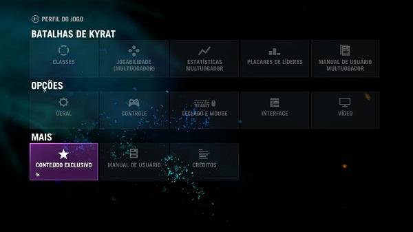 Far Cry 4 Menu Screen