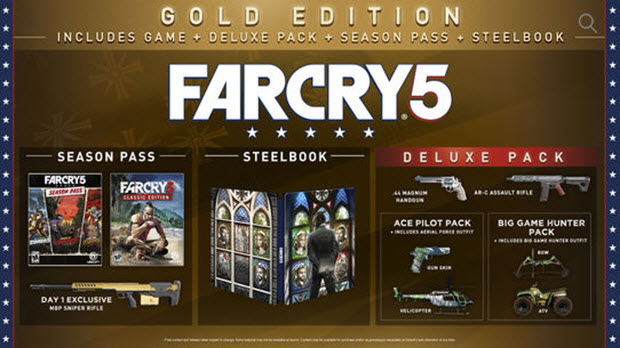 Content of Far Cry 5 Editions - Ubisoft Support