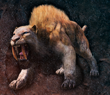 Change a portion of sabretooth tigers in Oros to the ferocious Flame Fang Sabretooth.