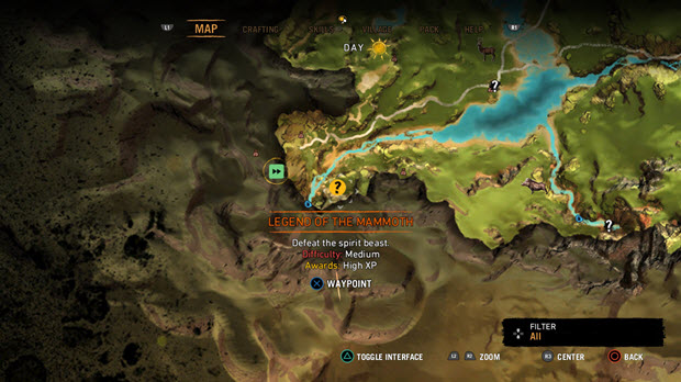 far cry 4 map vs primal