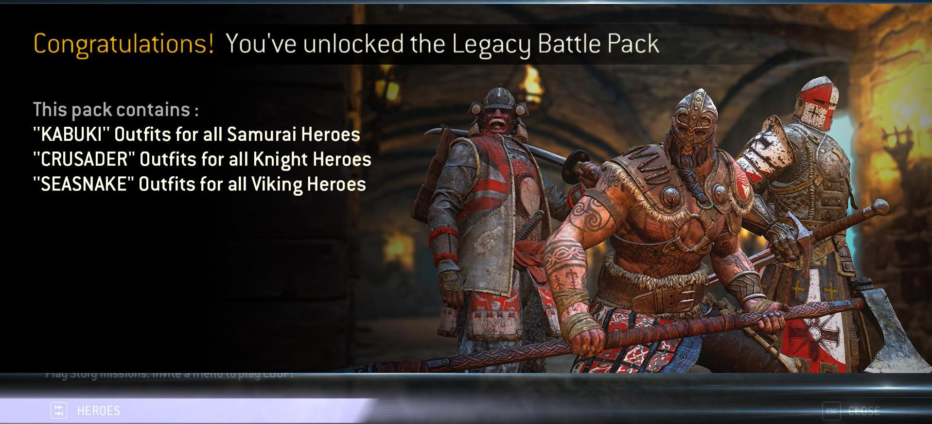 legend knight claim pack code