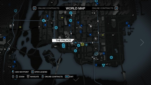 Watch Dogs  Symbols On Map