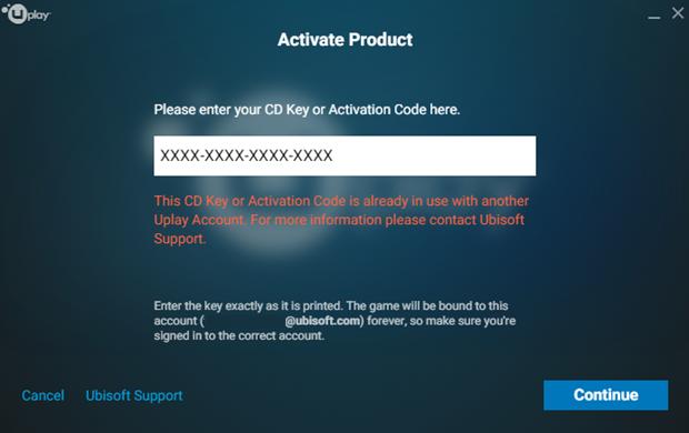 assassins creed 3 activation code uplay